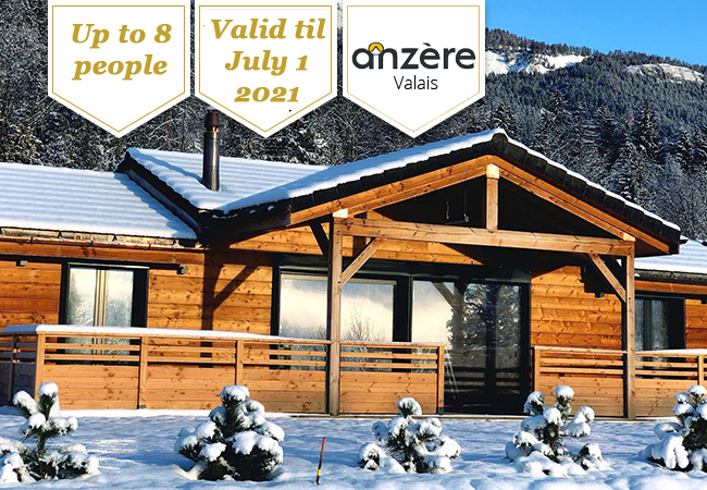Woodland Village Anzère: 2-Night Chalet Stay for up to 8 People