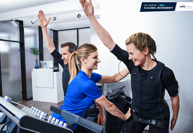 """20 minutes EMS = 90 minutes gym"" - The Guardian  EMS (Electric Muscle Stimulation) Personal Training at Chronosculpt Eaux-Vives: Rated 5 Stars on Facebook​  Get into shape with these short & effective EMS workouts  Photo"