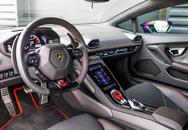 Valid All Summer Drive a Lamborghini Huracan EVO Spyder 2020 (640 Horse Power, 0 to 100 in 3.1 Seconds). 1 Voucher = 30 Min Drive + 10 Min BriefStart near La Praille, drive where you want (city / highway / countryside)  Photo