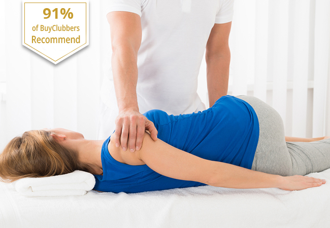 Recommended by 91% of BuyClubbers 1h Shiatsu Massage or Foot Reflexology at Institut de Médecine Naturelle by Michel del Amor: ASCA-Certified Massage Trainer at Ecole Migros  Photo