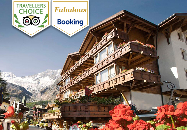Saas-Fee (Valais): 2-Nights at Walliserhof 5* Grand-Hotel & Spa