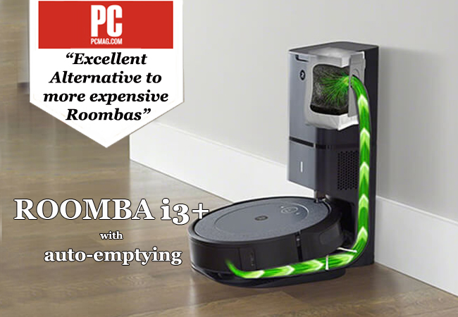 Roomba® i3+ Robot Vacuum Cleaner