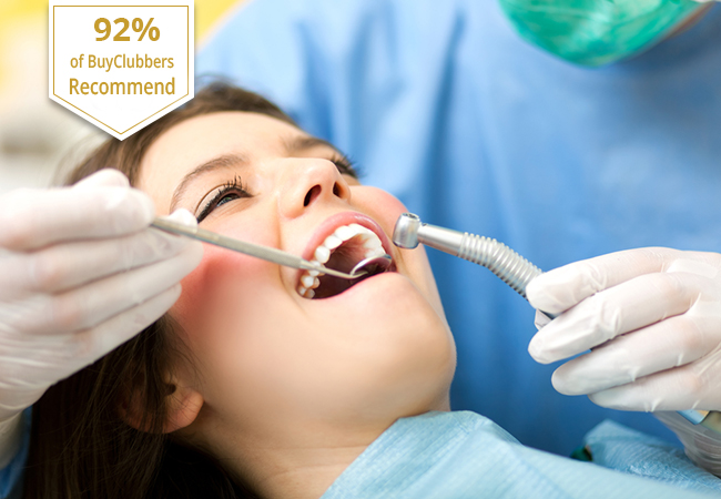 Recommended by 92% of BuyClubbers  Dental Cleaning at smileandcare Clinic in 2 Locations:   Grand Saconnex Eaux Vives   With option for Dentist checkup & X-rays  Photo
