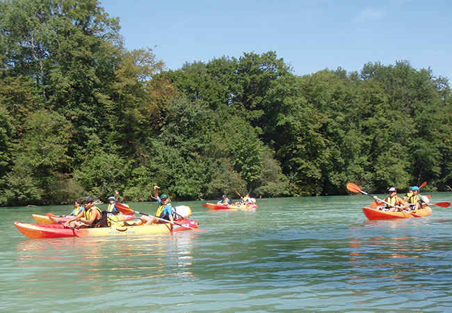 50 Vouchers Added Recommended by 100% of BuyClubbers: Rafting, Canoeing, or Kayaking Down Geneva's Arve & Rhône Rivers with Rafting-Loisirs (Guides + Material Included)Unique Geneva adventure for adults & kids from age 6+  Photo