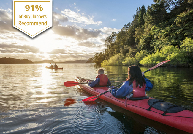 Kayaking with Rafting-Loisirs (1 voucher = access for 1 person)