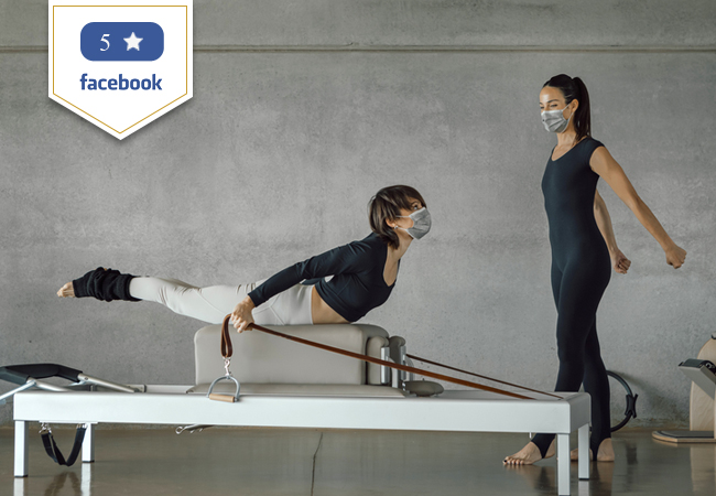 5 Stars on Facebook  Pilates (Machine or Mat), Yoga & More at Aerial Dance & MVMT in Carouge   5 group classes: 190-. 109 15 group classes: 375-. 259 2 private classes: 240-. 139   Choose from 45+ classes per week     Photo