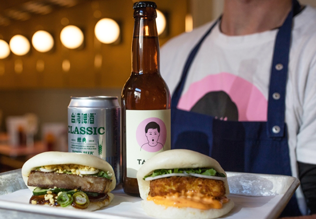 Just Opened  Taiwanese Bao Sandwiches at the New Bao Canteen (Rive). Valid 7/7 Eat-In & Takeaway  1 voucher = 3 bao sandwiches + 1 side + 1 drink + 1 dessert. Bao sandwiches are Taiwan's most famous street food, filled with slow-cooked pork / beef / mushrooms / crab / more  Photo