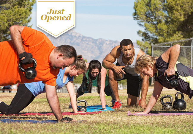 Just Opened  5 or 10 Outdoor Bootcamp Fitness Classes at Parc des Eaux-Vives with You Are Unique  8 classes per week to choose from , Mon-Fri & Sun, morning / lunch / afterwork  Photo