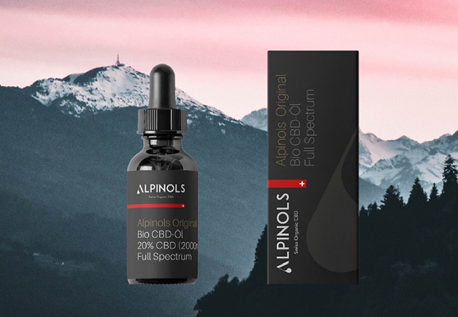 Purity-tested by Swiss Lab Organic Full-Spectrum Swiss CBD Oil from Alpinols: 10ml Bottle of 20% Oil. Incl Free Delivery  CBD Oil is most often used to improve sleep, reduce anxiety & lower pain  Photo