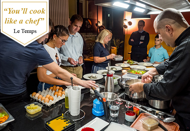 Cooking Classes at Les Ateliers by Serge Labrosse