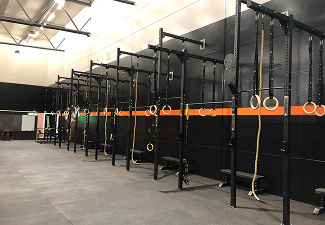 Just Opened  CrossFit Go Up (Carouge): 1 or 3 Months Membership incl Unlimited Classes 7/7 & Open-Gym AccessGeneva's largest CrossFit space with 39 classes per week, incl classic WOD, strength, cardio, weightlifting & more, for all levels  Photo