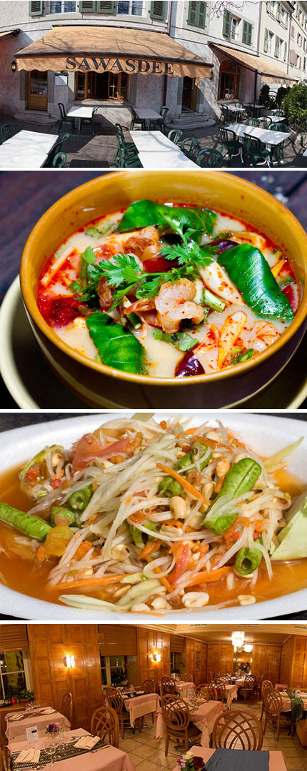 Thai Dinner At Sawasdee For 2 Or 4 People Buyclub Geneva